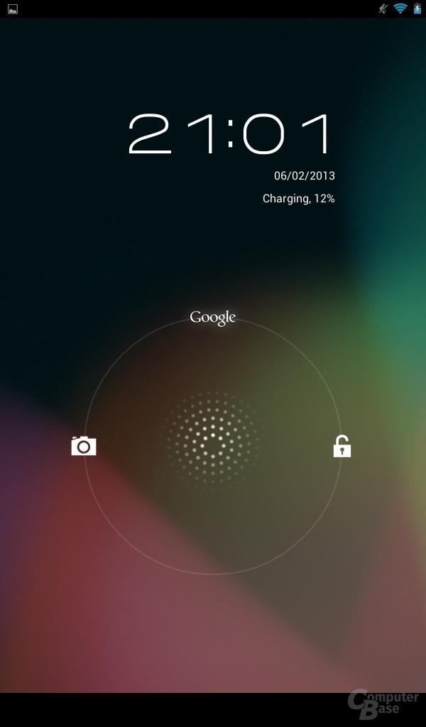 Acer Iconia Tab B1 - Lockscreen