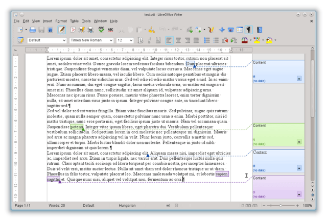 Libre Office 4