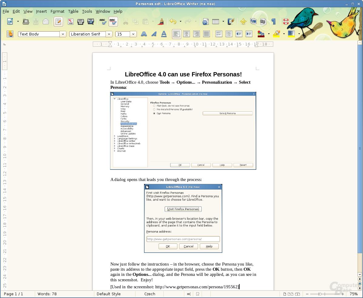 Libre Office 4
