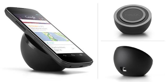 Kabellose Ladestation für das Nexus 4