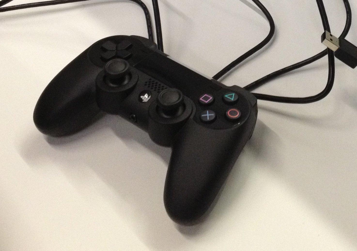 Zweites Abbild des möglichen PlayStation-4-Controllers