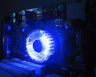 blaue LED