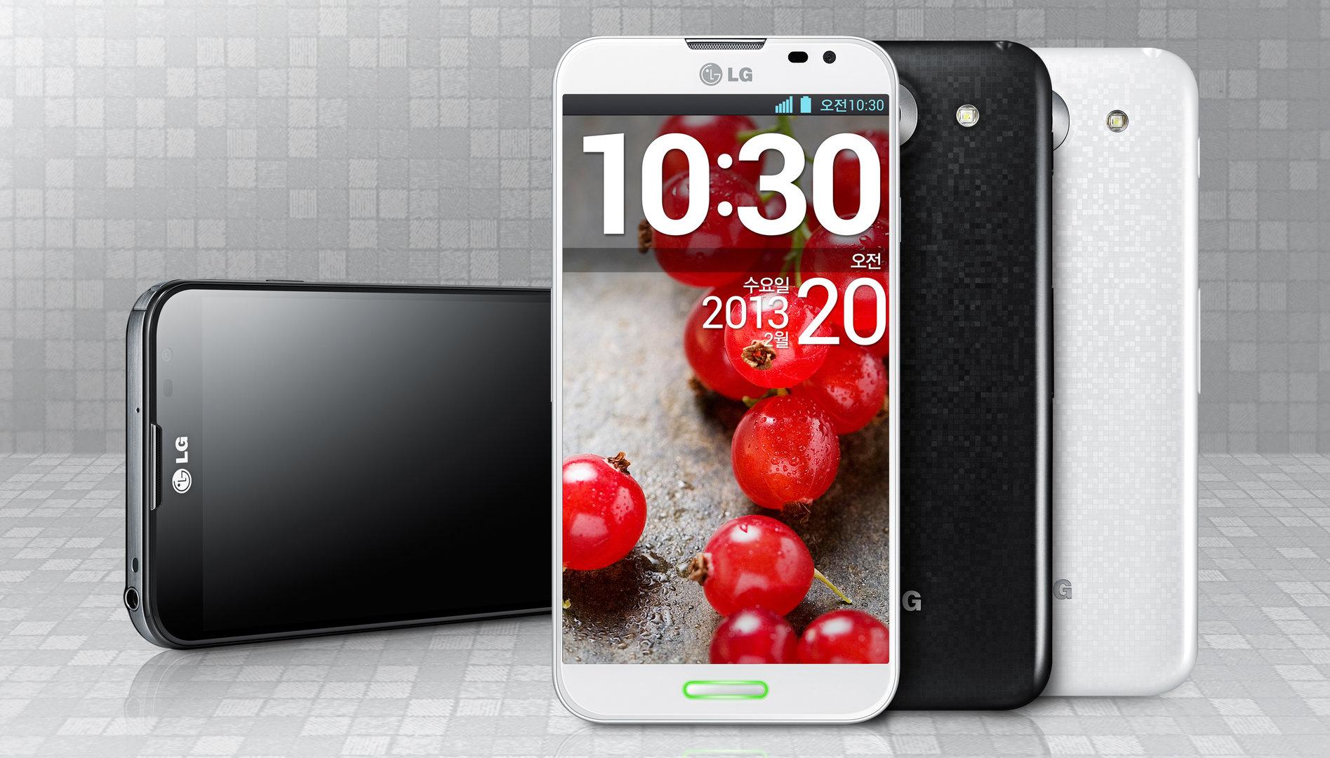 LG Optimus Pro mit 5,5-Zoll-IPS-Display