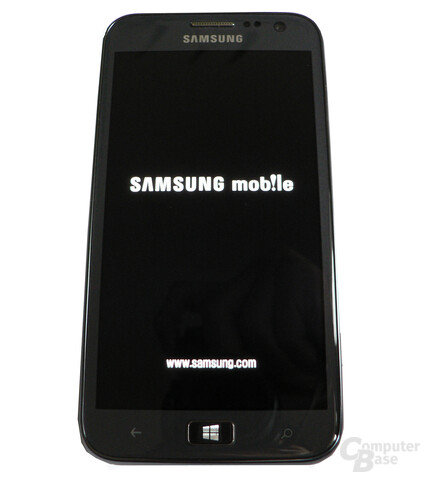 Samsung Ativ S - Front