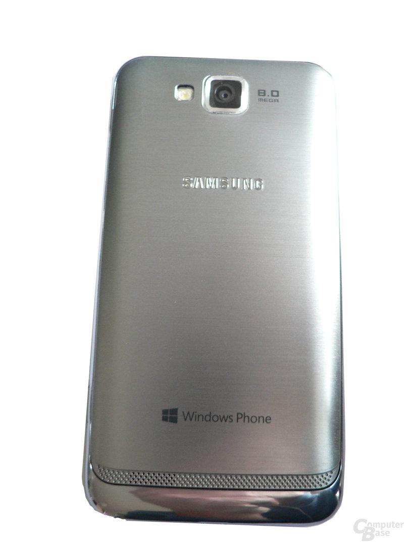Samsung Ativ S - Rückseite