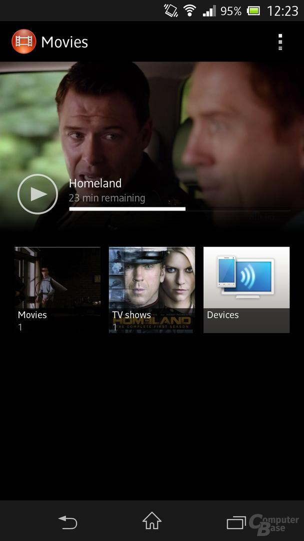 Sony Xperia Z - Video