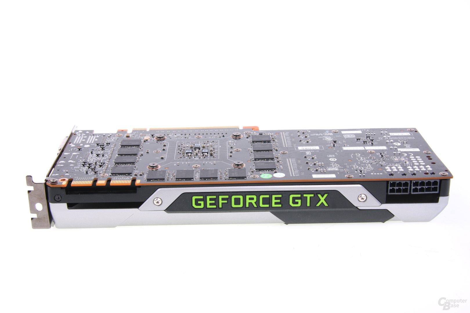 GeForce GTX Titan Seitenansicht
