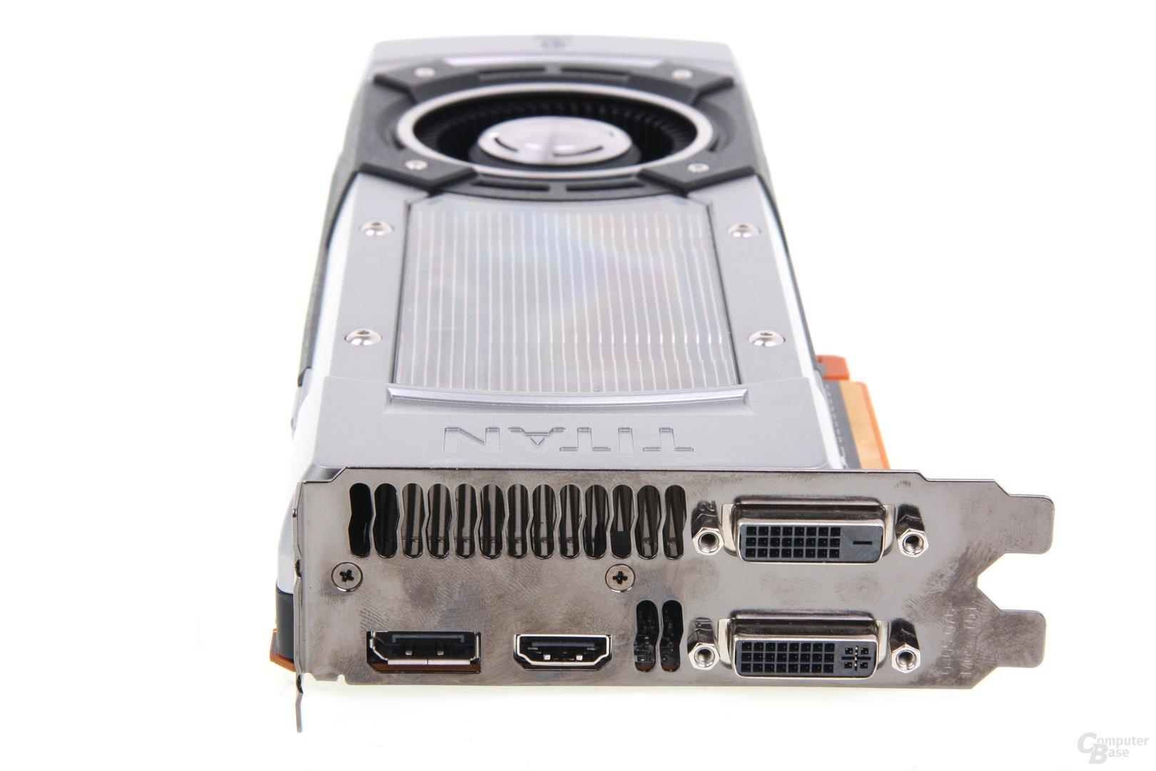 GeForce GTX Titan Slotblech