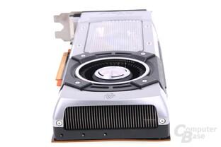 GeForce GTX Titan von hinten