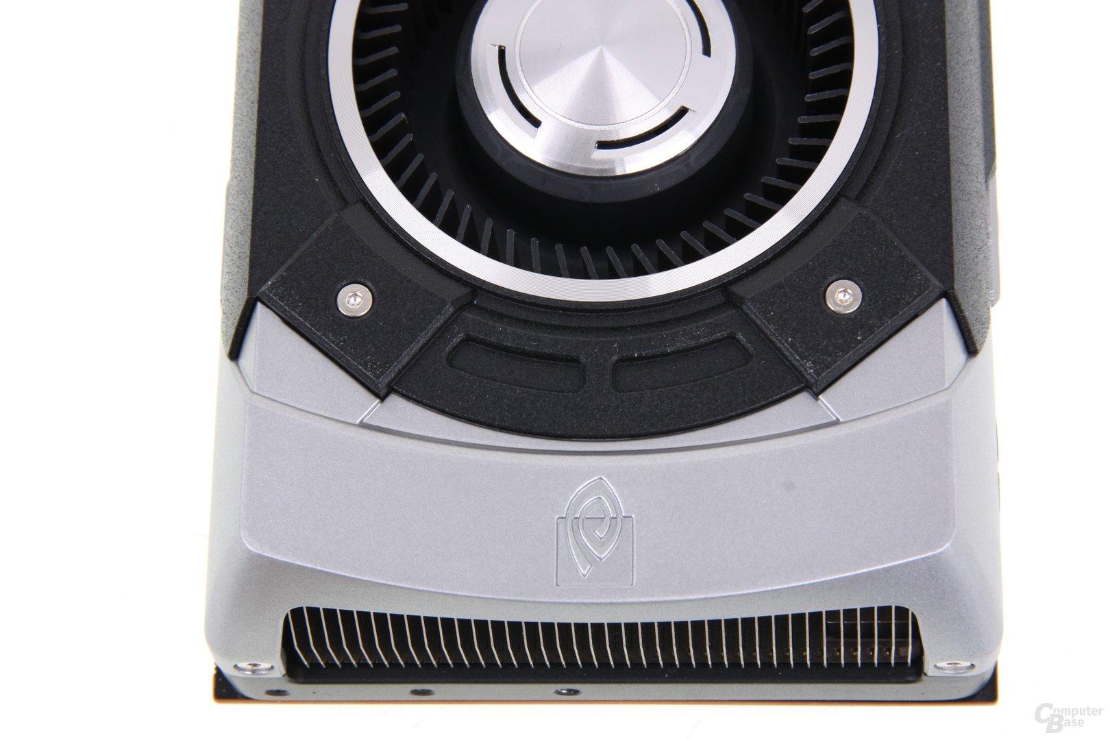 GeForce GTX Titan von oben