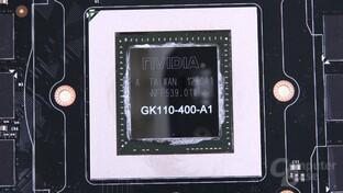 Nahaufnahme der GK110-GPU