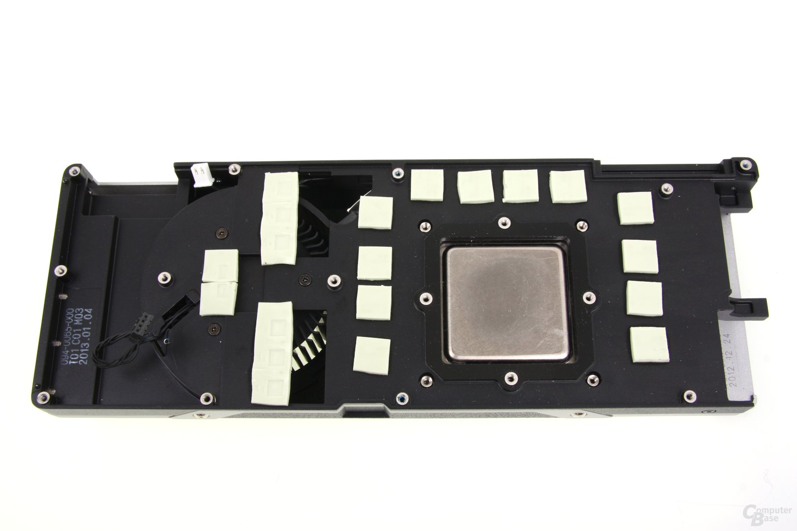 GeForce GTX Titan Kühlerrückseite