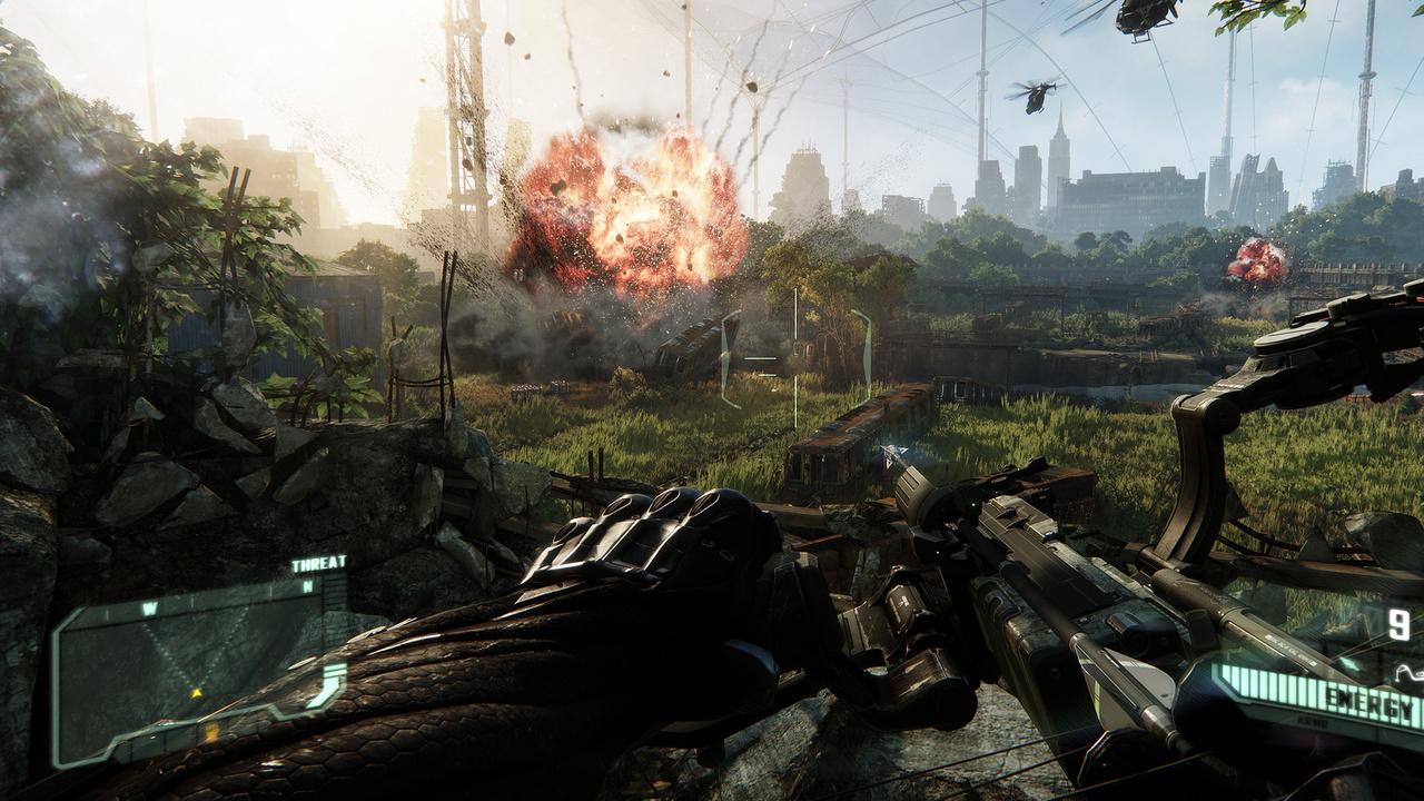 Crysis 3 im Test: B-Movie mit Grafikpracht