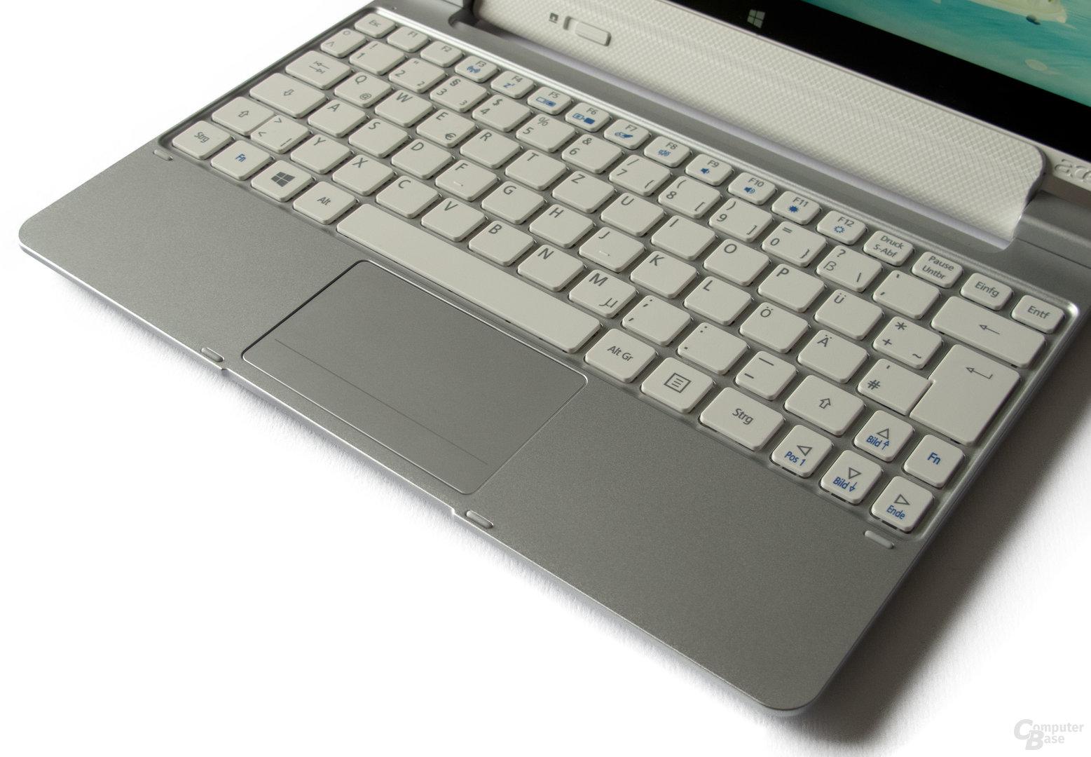 Gute Tastatur, sehr schlechtes Touchpad