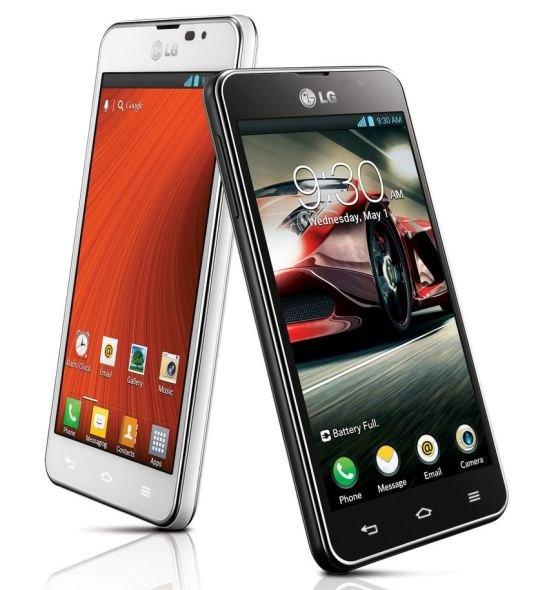 LG Optimus F5 und F7