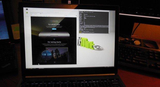 Chromebook mit Linux Mint