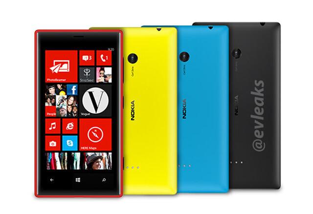Angebliche Bilder des Nokia Lumia 720