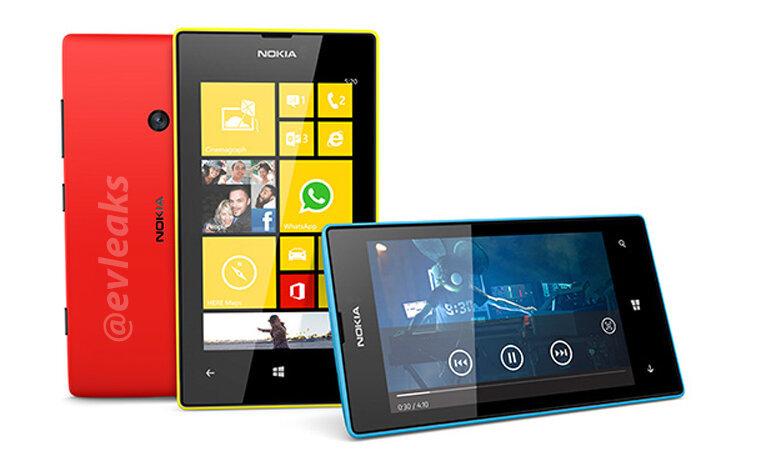 Angebliche Bilder des Nokia Lumia 520