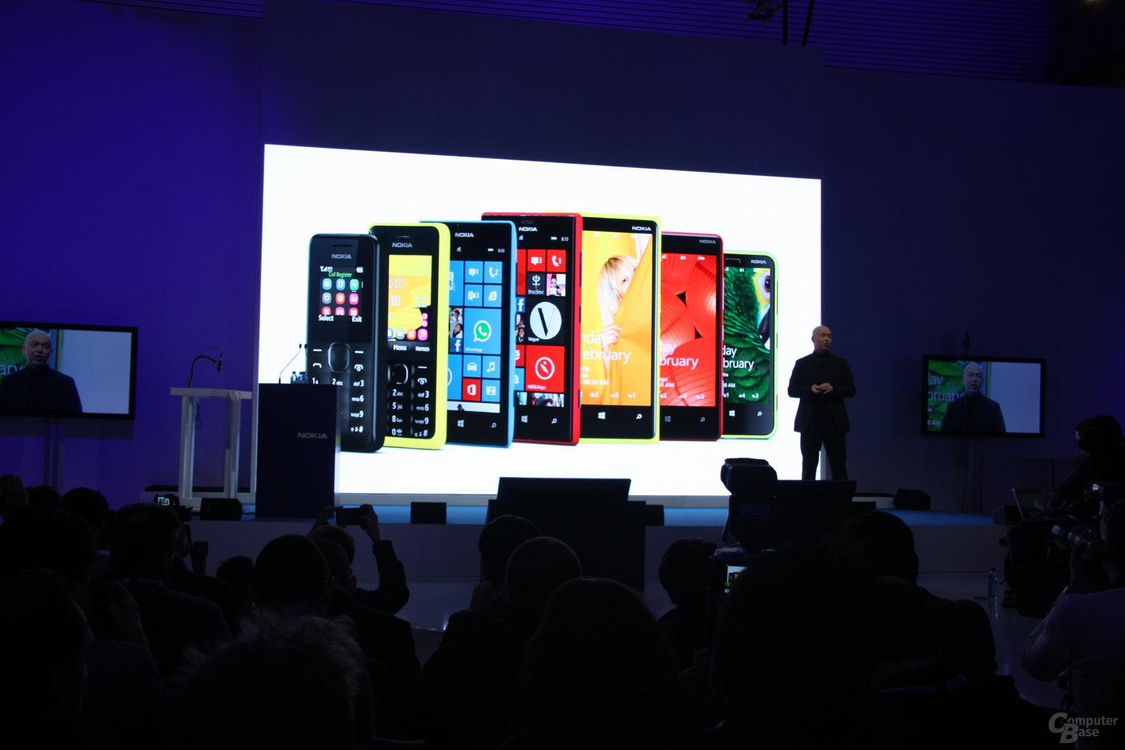 Nokia MWC 2013 Pressekonferenz