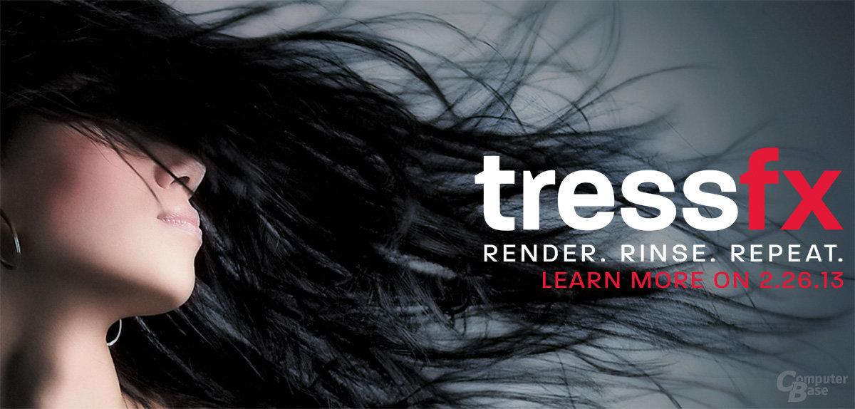 """AMD teasert """"TressFX Technology"""""""