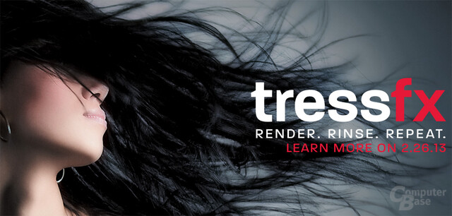 "AMD teasert ""TressFX Technology"""