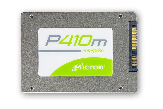 Micron P410m mit SAS-Schnittstelle