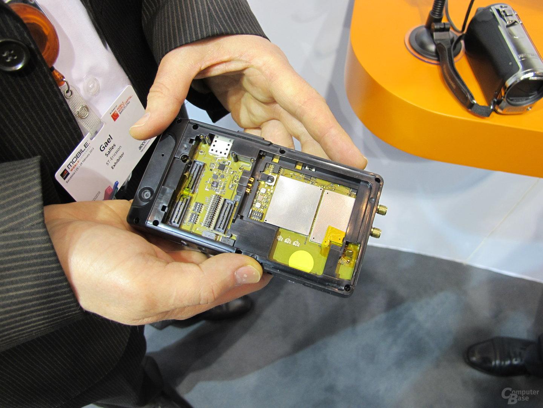 ST-Ericsson NovaThor L8580 im Testgerät