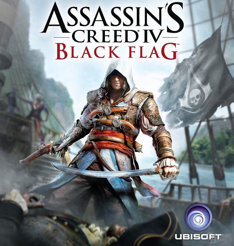 "Cover des kommenden ""Assassin's Creed 4 Black Flag"""