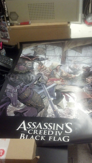 "Poster zu ""Assassin's Creed 4 Black Flag"""