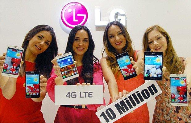 Zehn Millionen verkaufte LTE-Smartphones