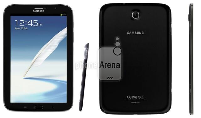 Samsung Galaxy Note 8.0 in Dunkelgrau