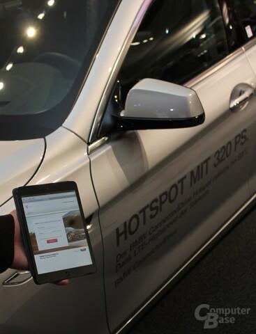 Telekom LTE-Hotspots in BMWs bei Sixt