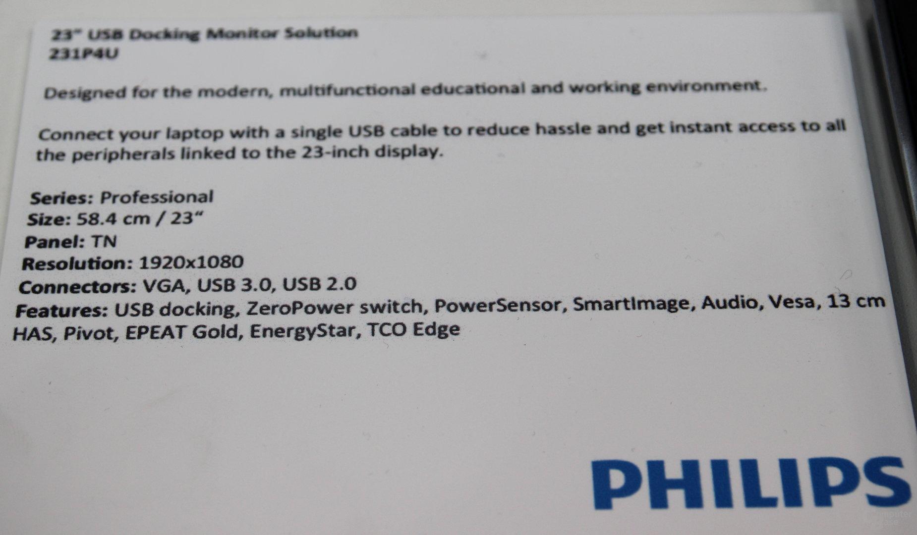 Philips 231P4U