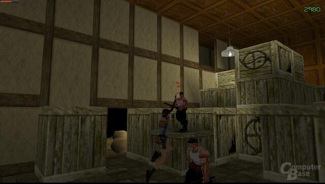 Tomb Raider 2 (1997) – Kämpfe