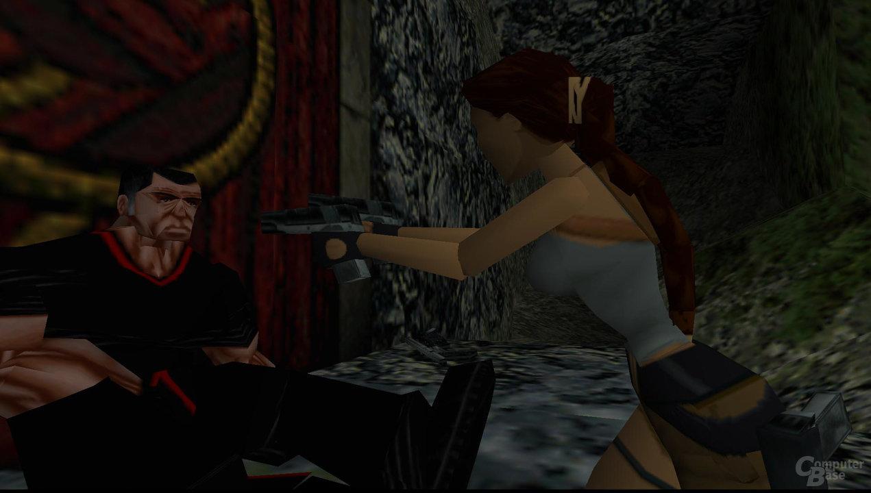 Tomb Raider 2 (1997) – Ingame-Zwischensequenz