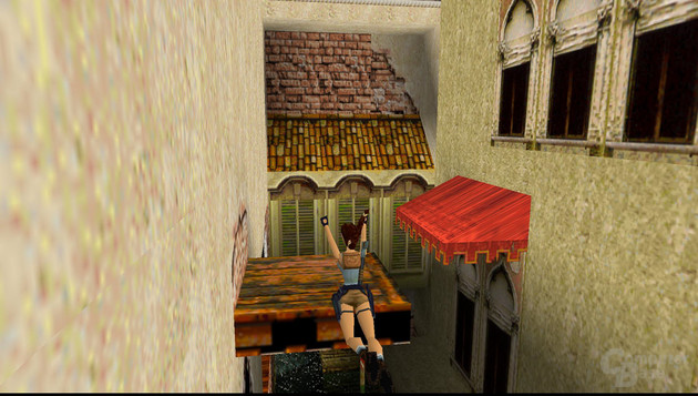 Tomb Raider 2 (1997) – Sprungsequenz