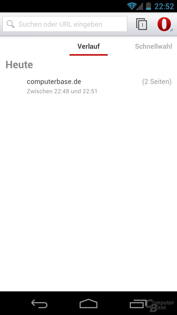 Opera 14 Beta für Android