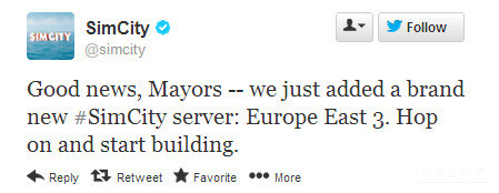 Neuer Europa-Server
