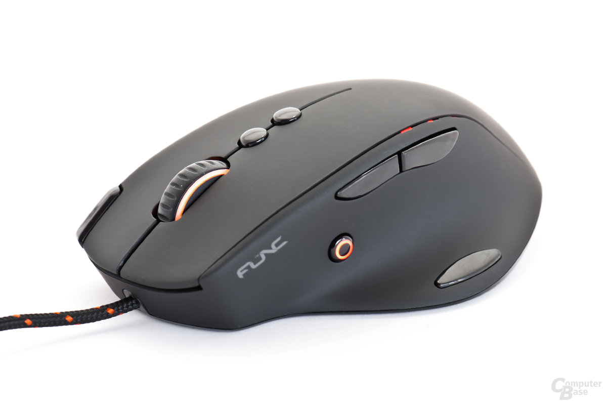 Func MS-3 Gaming-Mouse mit dezenter Beleuchtung