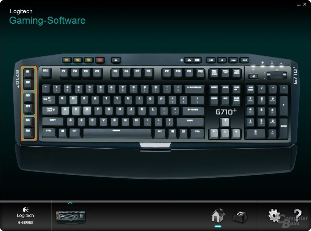 Logitech G710+ Software