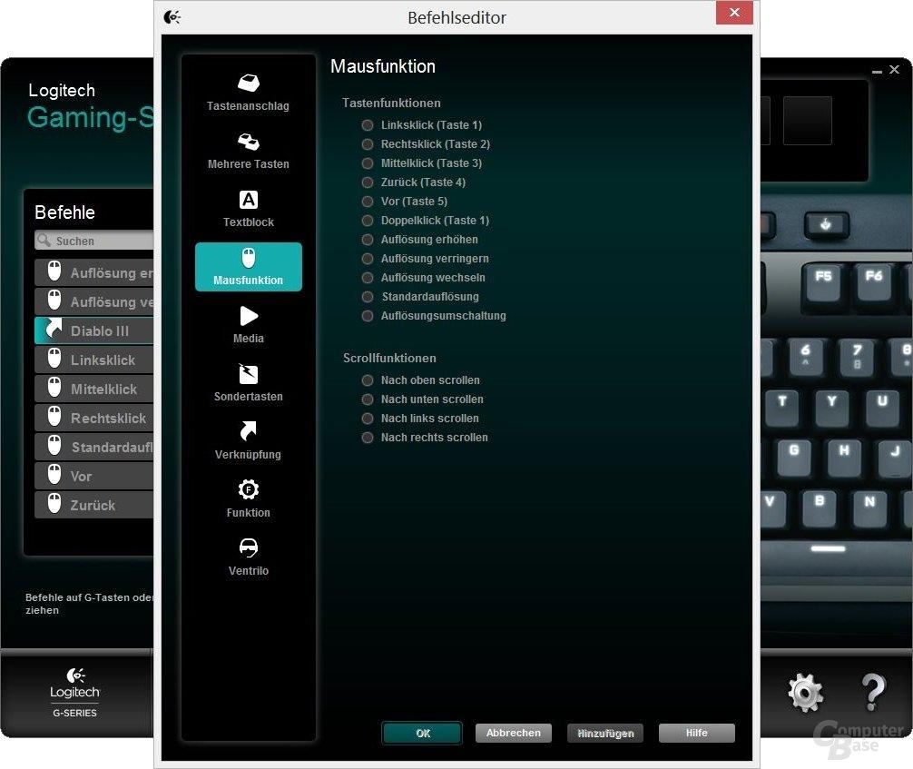 Logitech G710+ Software