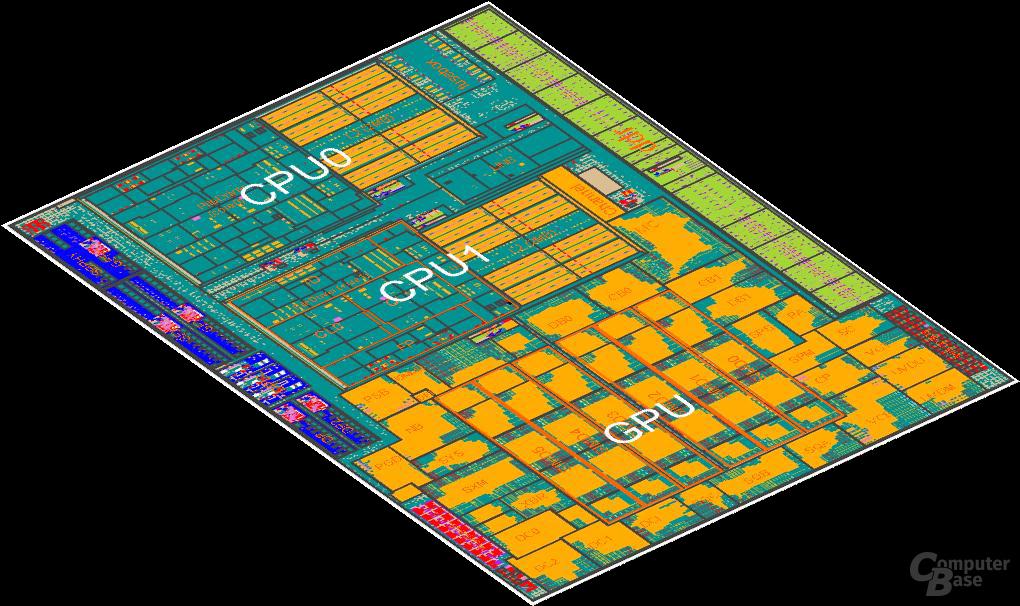 """AMDs """"Richland"""" mit zwei Modulen und Grafikeinheit"""