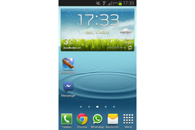 Samsung Galaxy SII Plus - Screenshot