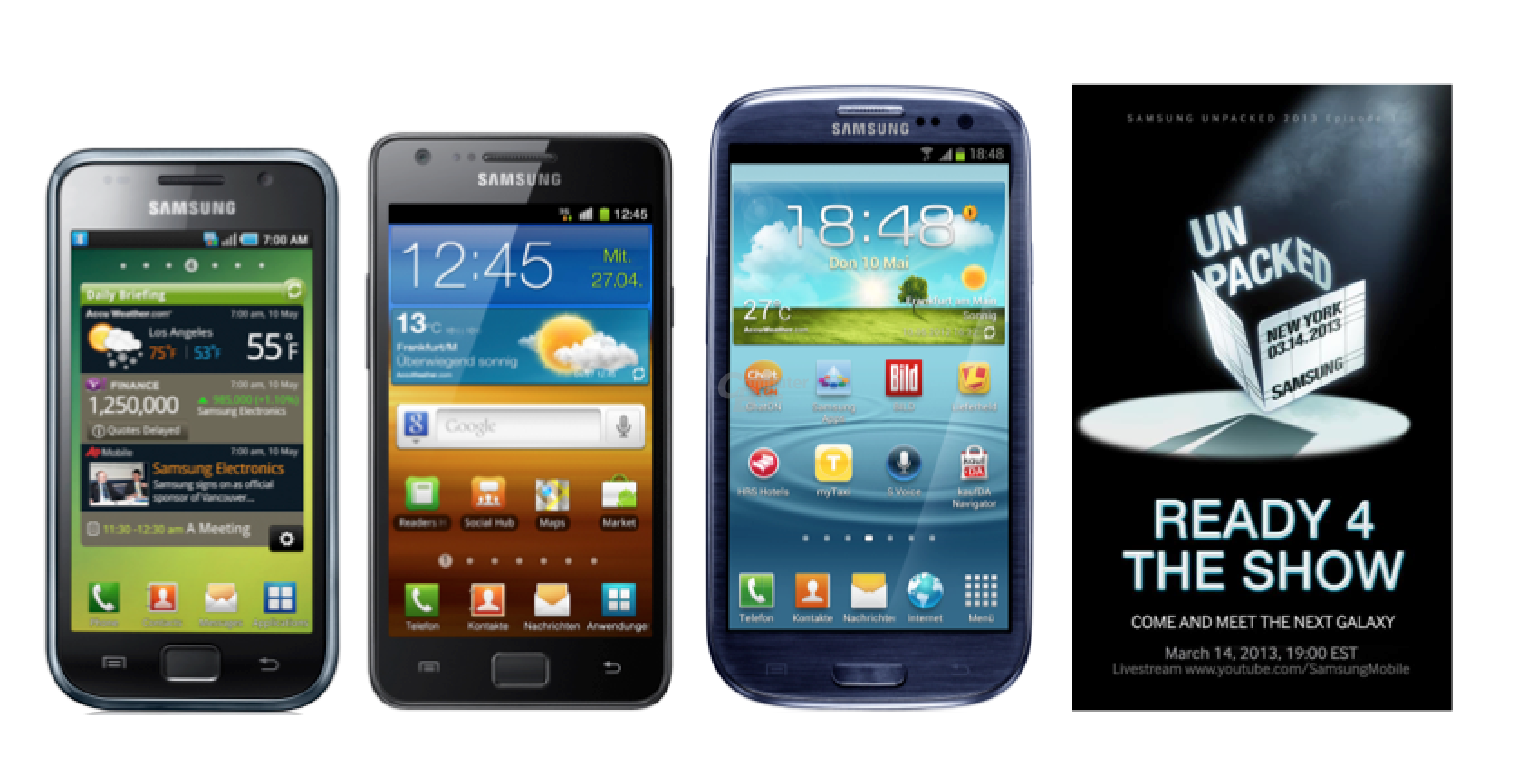 Samsung Galaxy S Serie