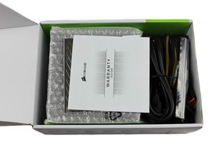 Corsair CX500 - geöffnete Verpackung