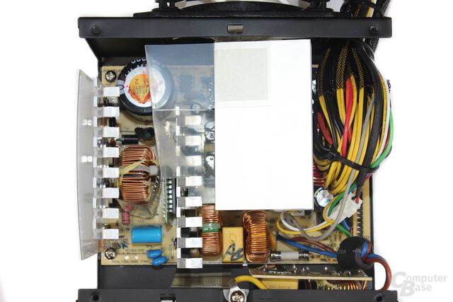 Arctic Fusion 550RF - Überblick Elektronik
