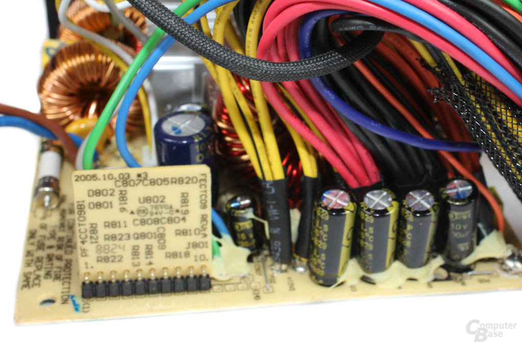 Arctic Fusion 550RF - Elektronik im Detail