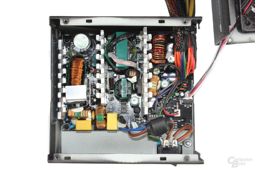 Corsair CX500 - Überblick Elektronik