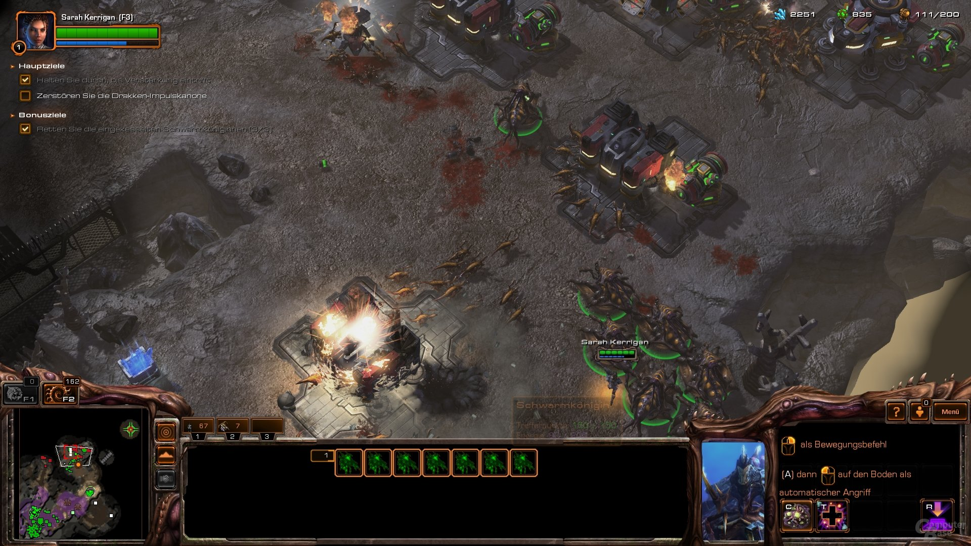 StarCraft 2: Heart of the Swarm im Test