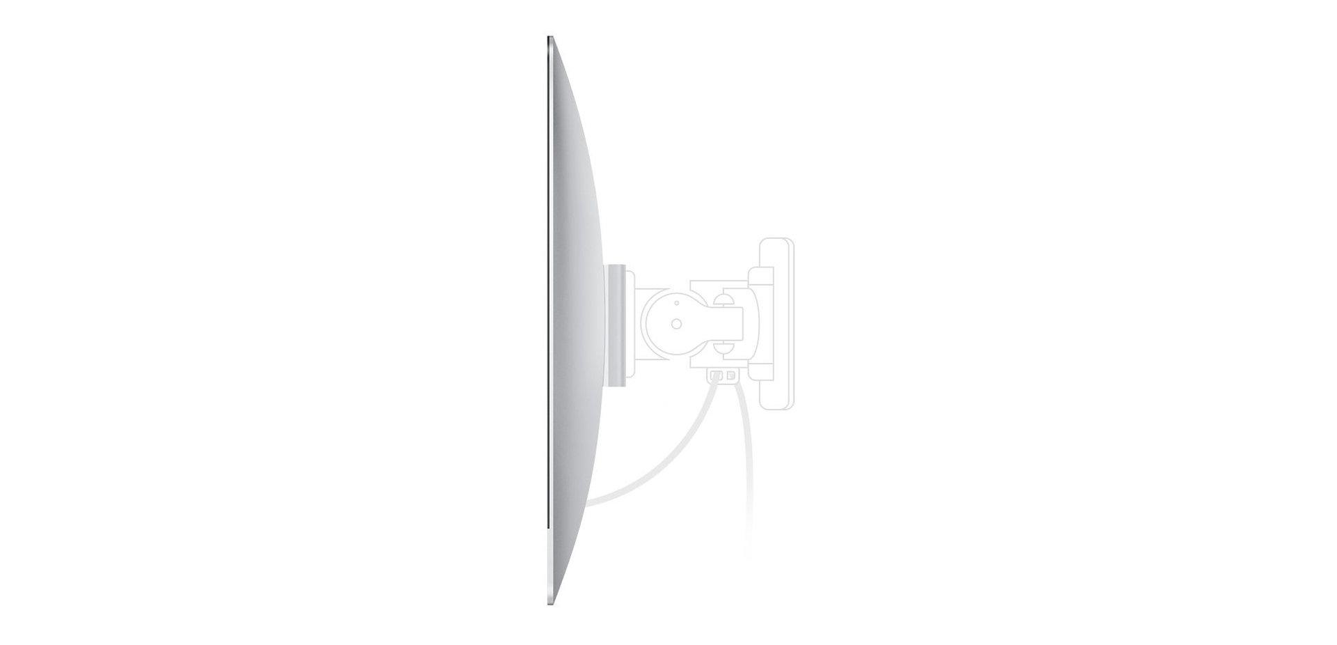 iMac mit VESA-Mount-Adapter